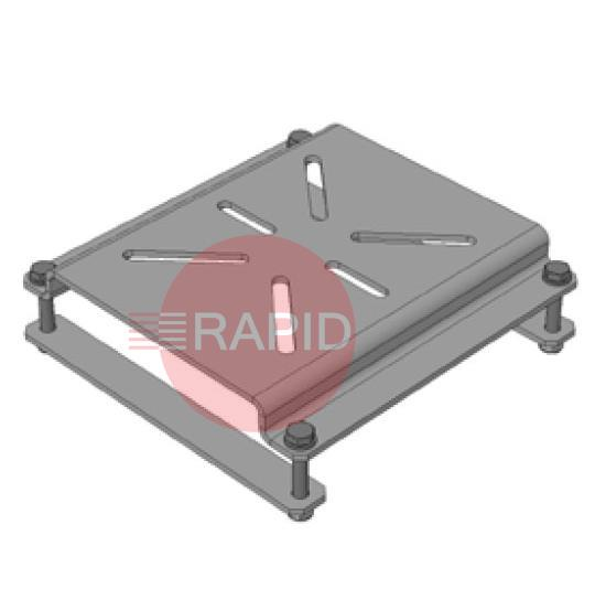 0040400030  Bench Vice Mounting Bracket for Downdraft Table
