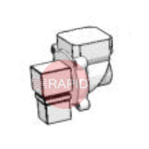0040900010  Pressure relief valve for downdraft table