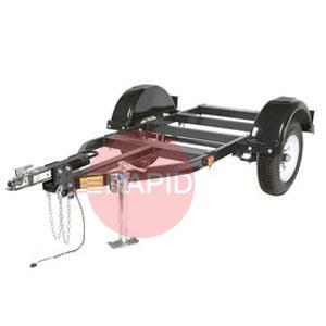 00529  Undercarriage for highway towing, with brakes (Vantage 400 / 500)