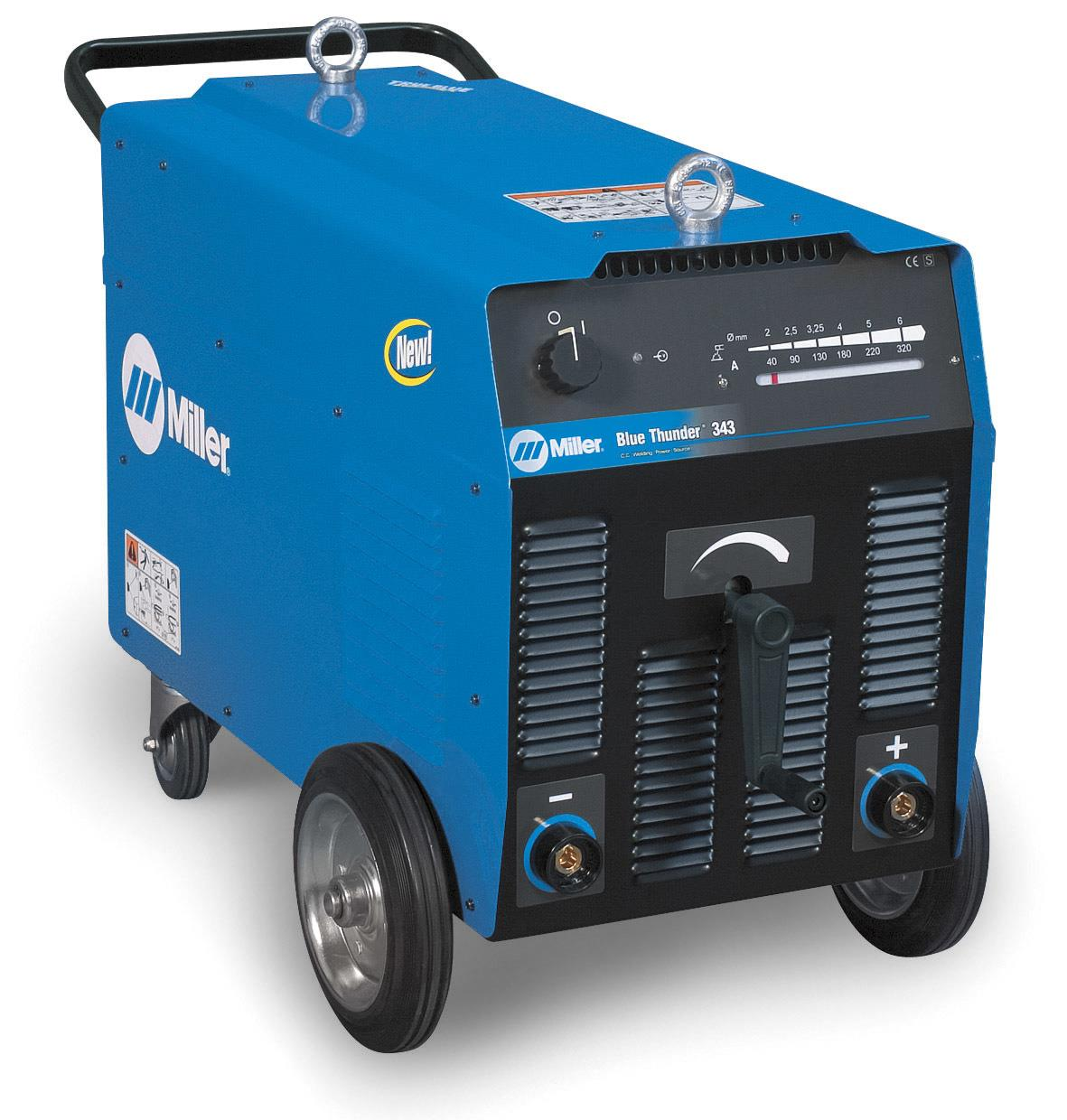 029016236  Miller Blue-Thunder 443 Arc Welder 230 - 400v 3ph