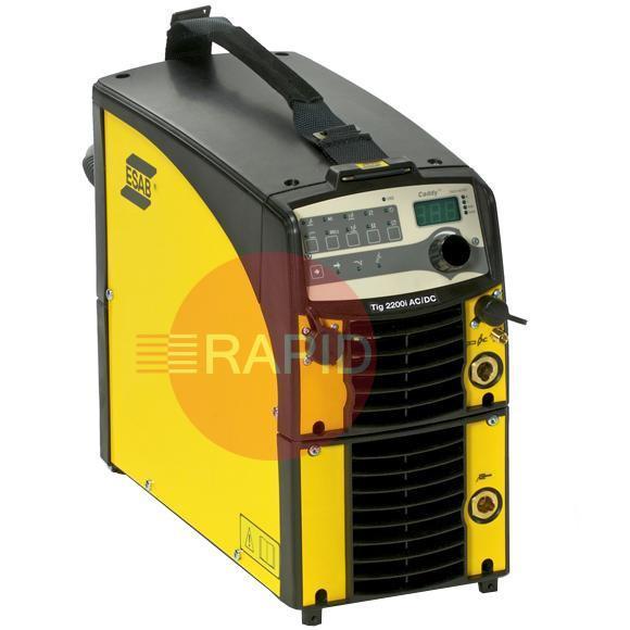 buy esab caddy tig 2200i ac dc ta33 package 4m tig torch and mma rh rapidwelding com