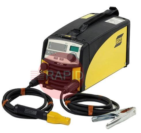 "0460445884  ESAB Caddy® Arc 201i, A33 package incl. 3 m MMA welding and return cable kit (""screw"" type holder) 230v"