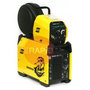0479000102  ESAB Warrior 400 Multi Process Air Cooled Welder Package