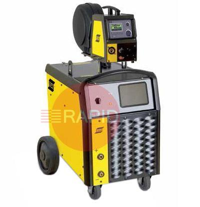 0479100242  ESAB OrigoMig 5002cw/ Feed3004w Water Cooled Mig Package with PSF 510w 4.5m Torch & 10m Interconnection.