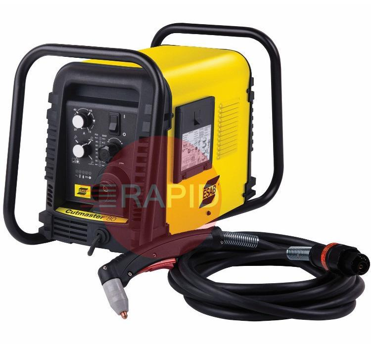 0559113314  ESAB Cutmaster 80 Plasma Cutter with 15m SL60 Hand Torch, 25mm Cut, 400v 3ph CE