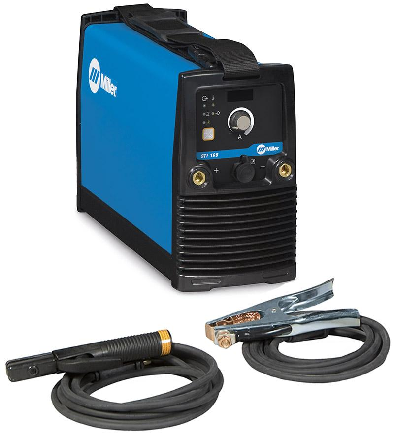 059016012SP  Miller 160 STi MMA Inverter Welder Package with MMA Cables, 230v