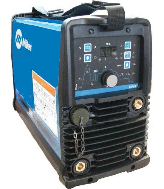059016024WP  Miller STH 270 Pulsed Tig Welder, Water Cooled Package, 400v 3ph