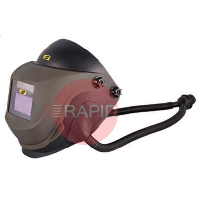 0700000322  ESAB Albatross 4000X Shade 9-13 Welding Helmet prepared for Hard Hat and Fresh Air