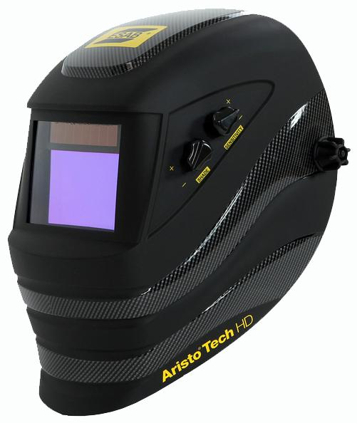 0700000450  ESAB Aristo Tech HD 5-13, Auto Darkening Welding Helmet Shade 5 - 13
