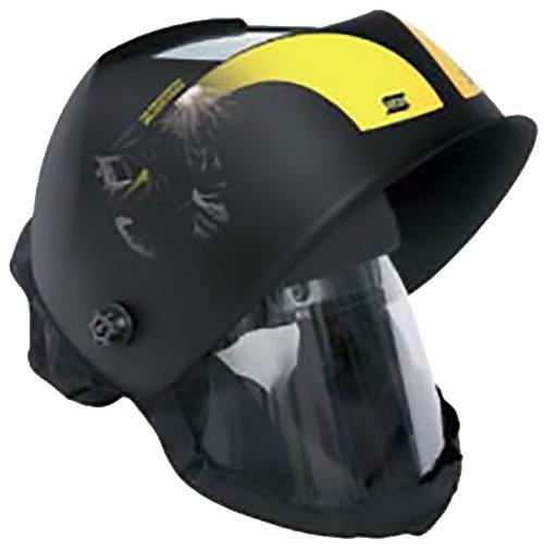 0700000959  ESAB New-Tech 6-13 XL ADC Plus internal visor & prep for fresh air helmet.