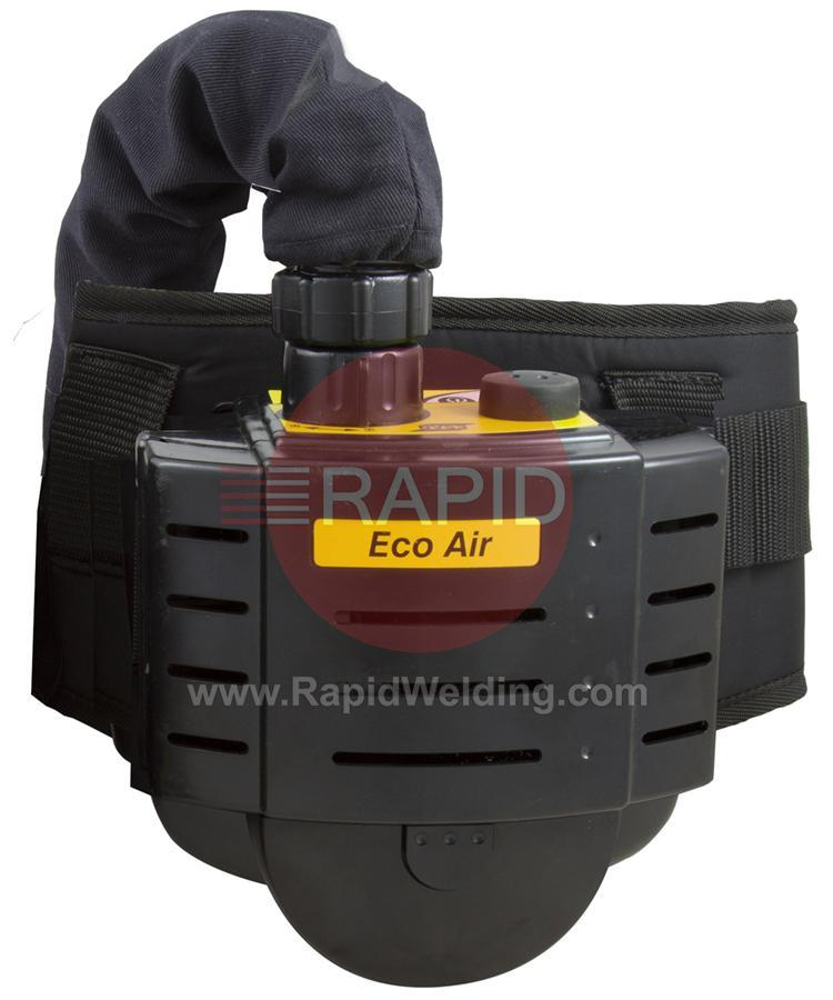 0700002175  ESAB ECO Air Unit with Air Hose, Belt, Battery, Charger, P3 Filter and Pre Filter (No Helmet)