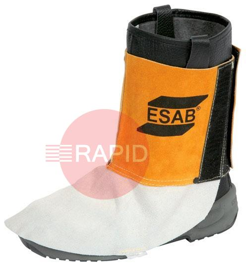 0700010008  ESAB Leather Gaiters (Pair) EN ISO 11612, EN 11611