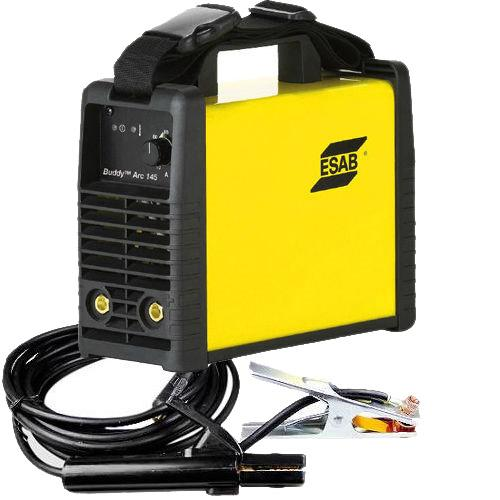 0700300884  Esab Buddy ™ Arc 145 Inverter Machine including 3 m MMA welding and return cable kit, 230v