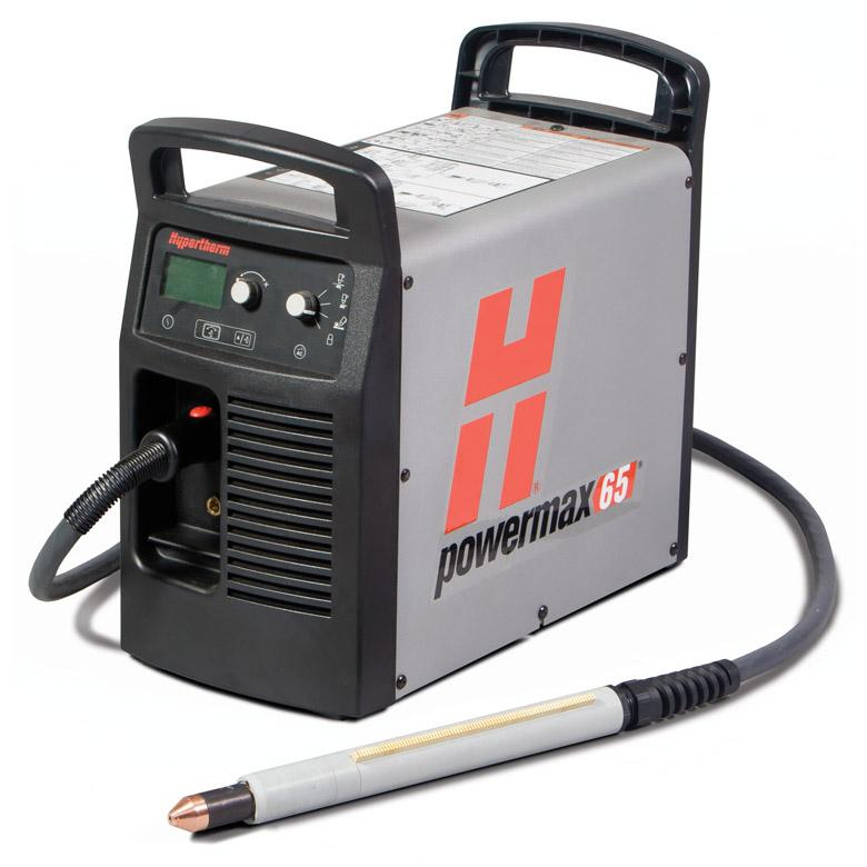 083293  Hypertherm Powermax 65 Mechanised Plasma Cutter with Earth and 7.6m M65 Torch, Without Remote