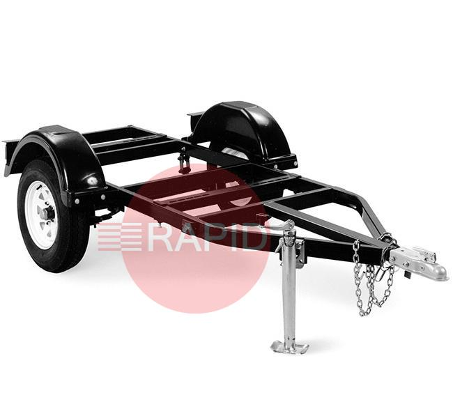 1285997  Miller Road Trailer with jockey wheel, ball hitch, mudguards and lights