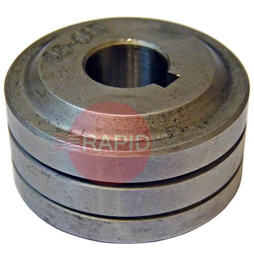 156053051  Drive roll, 0,6 / 0,8 mm / V-groove (2 required)