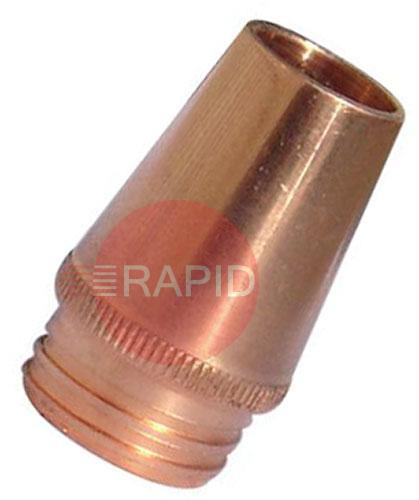 25CT-XX  Tweco 25CT Course Thread Standard Nozzle, 3.2mm Tip Recess