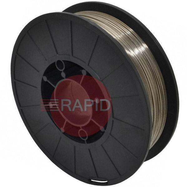 308085  308L Stainless Steel Mig Wire 3.75kg Spool. 0.8mm Diameter.