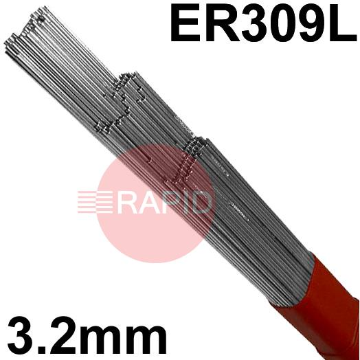 309325  309LSi  Stainless Tig Wire. 3.2mm Diameter. 5kg pkt