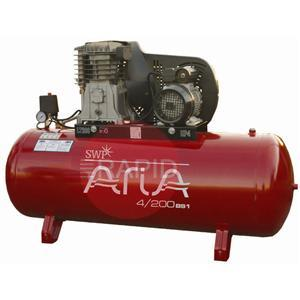 3150BS3  Aria 150 Ltr 3HP Belt Drive Compressor 13 CFM 3 Phase