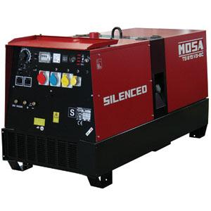 35.36110  MOSA TS 615 VSX-BC Air Cooled 1500rpm Diesel Welder Generator, 550A