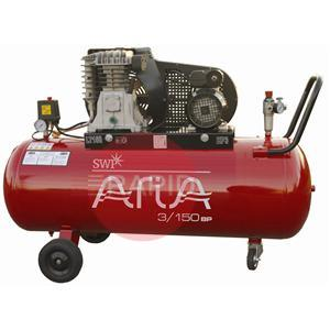 350BP  Aria 50 Ltr Belt Drive 3 HP Compressor 13CFM 240V