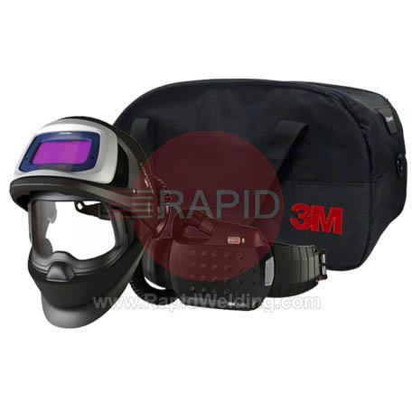3M-547726  3M Speedglas 9100XXi FX Welding Helmet with New Adflo Powered Air Respirator, 5/8/9-13 Variable Shade