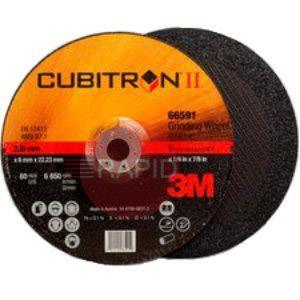 3M-66597  3M Cubitron II 100mm DPC Grinding Disc (Pack of 10)