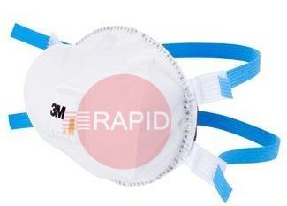 3M8825  Dust/Metal Fume Valved Respirator (5 per box)