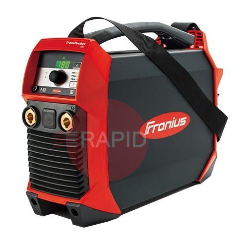 4,075,213,632  Fronius TransPocket 180 MV/G Inverter Arc Welder MMA Leads & 110v Mains Cable, Dual Voltage 110v /240v