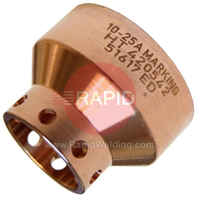420542  Shield 10 - 25A Marking - Powermax 45 XP