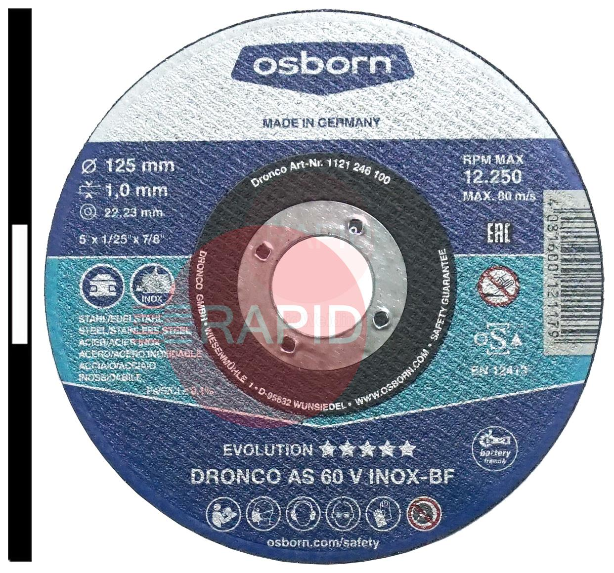 "510MC  125mm (5"") Metal Cutting Disc 1mm Thick"