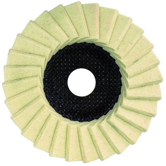 "5512220  Dronco 5"" G-VA Finish Gloss Polishing Flap Disc (Box of 10)"