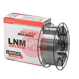 582253  Lincoln LNM 347Si Stainless Mig Wire, 0.8mm Diameter 15kg spool
