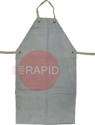 "60241  Chrome Leather Apron c/w Ties  36'' X 24""  (91cm x 70cm)"