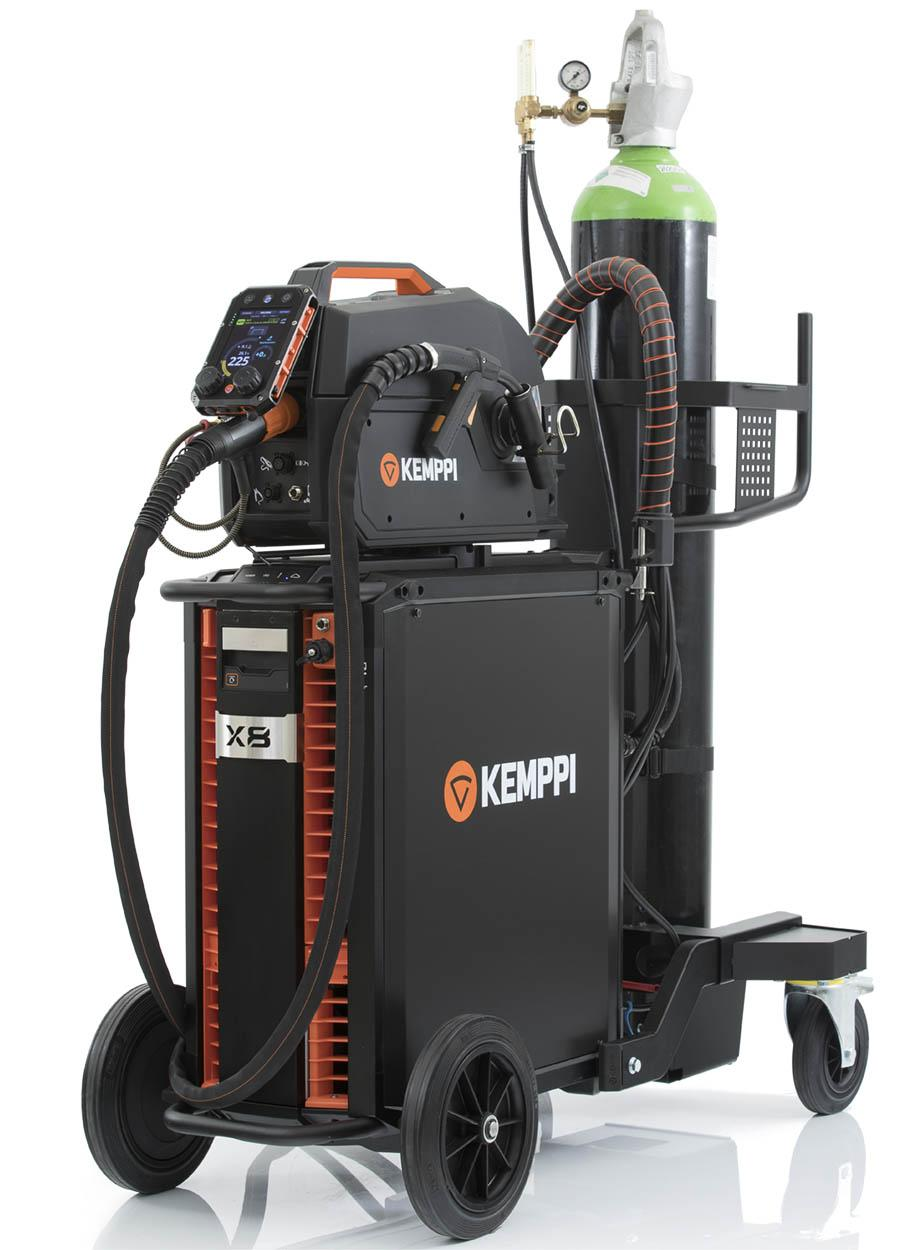 6100558X8  Kemppi X8 Extreme Industrial Pulse Mig Welder - Up to 600A