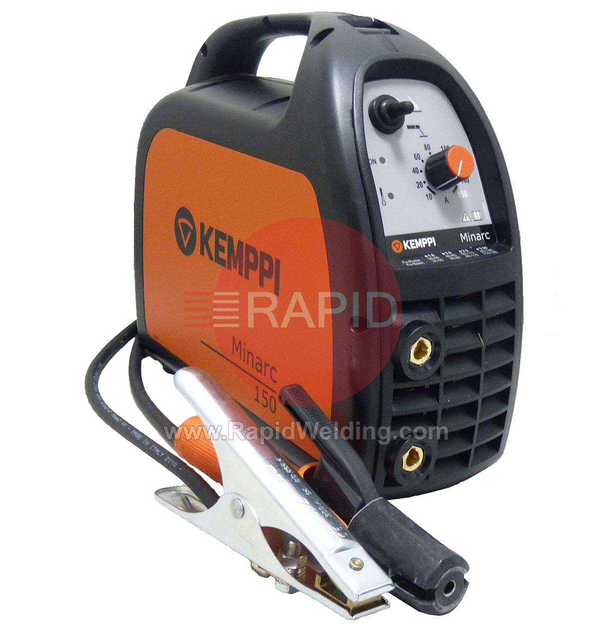 6102150  Kemppi Minarc 150 Arc Welder with Leads, 240v