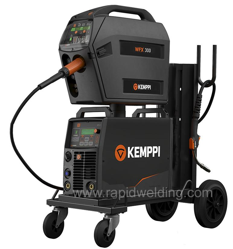 6103350XARAC  Kemppi FastMig X 350 Regular Air Cooled Mig Welder Package, 400v 3ph