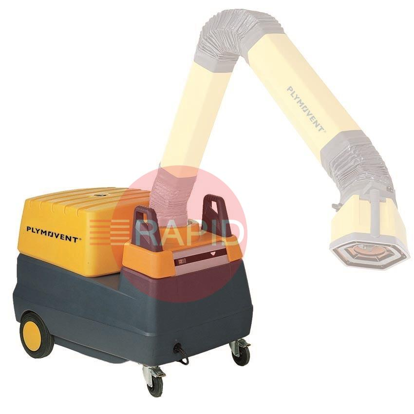 7028-MFD  Plymovent MFD Mobile Welding Fume Extractor with Disposable Filter (Requires Extraction Arm)