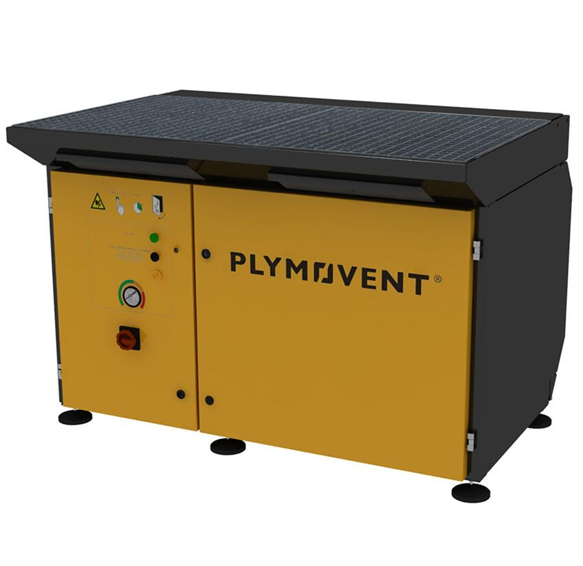 7234700000  Plymovent DraftMax Advance Downdraft Table with manual self-cleaning filter, 400v 3ph