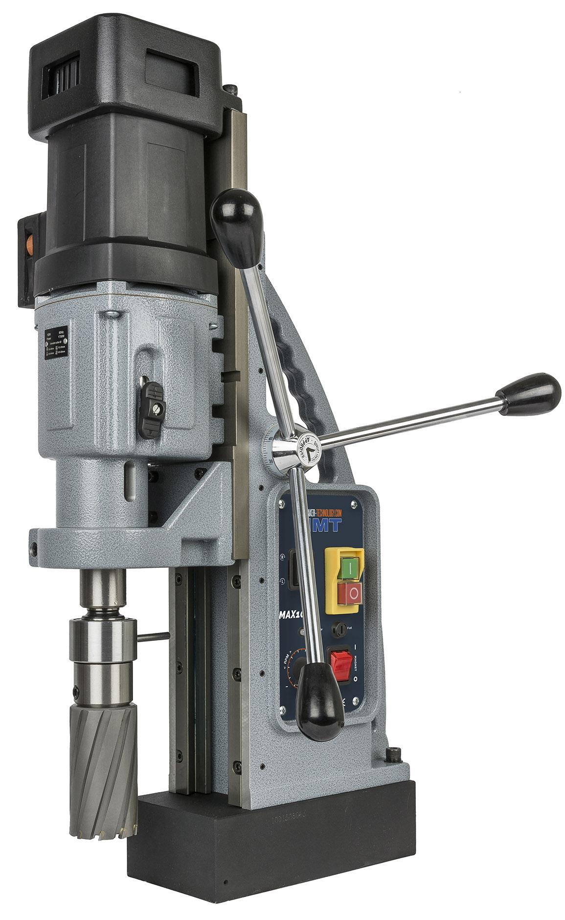 803070-0001  HMT Max-100T Tapping Magnet Drill 110 Volt - with FREE TCT Cutter Set