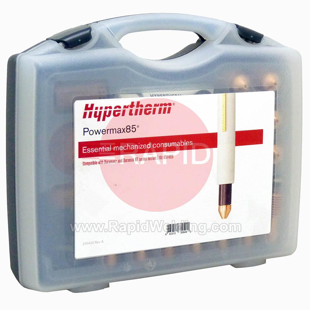 851469  Hypertherm Essential Mechanised Consumable Kit - Powermax 85