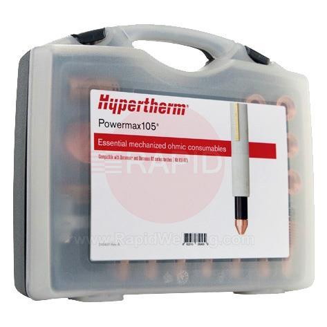 851473  Hypertherm Essential Mechanised Ohmic Consumable Kit - Powermax 105
