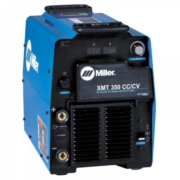 907371WP  Miller XMT 350 CC/CV Water Cooled Mig Welder Package, 208 - 575 VAC
