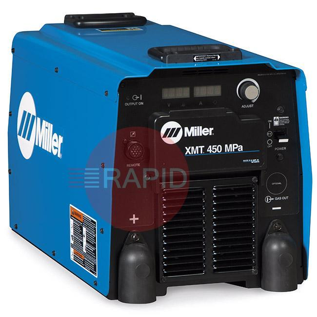 907468  Miller XMT 450 MPa Multiprocess Inverter Power Source 400 VAC 3 Phase