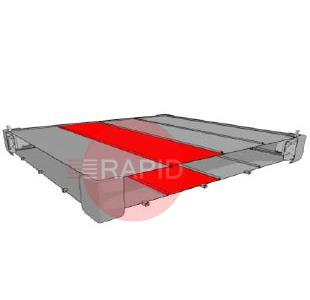9750401020  Plymovent Roof Panel Set (Extension) 1.5m (1x2)