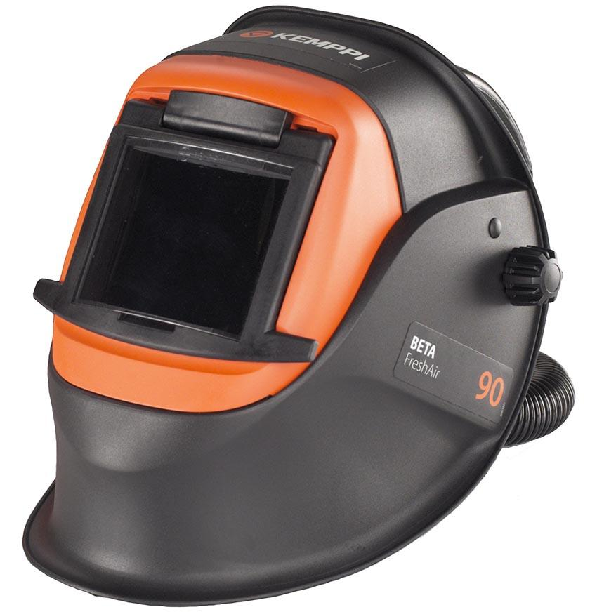 9873065  Kemppi Beta 90 FreshAir Welding Helmet with Fixed Shade Auto Darkening Lens