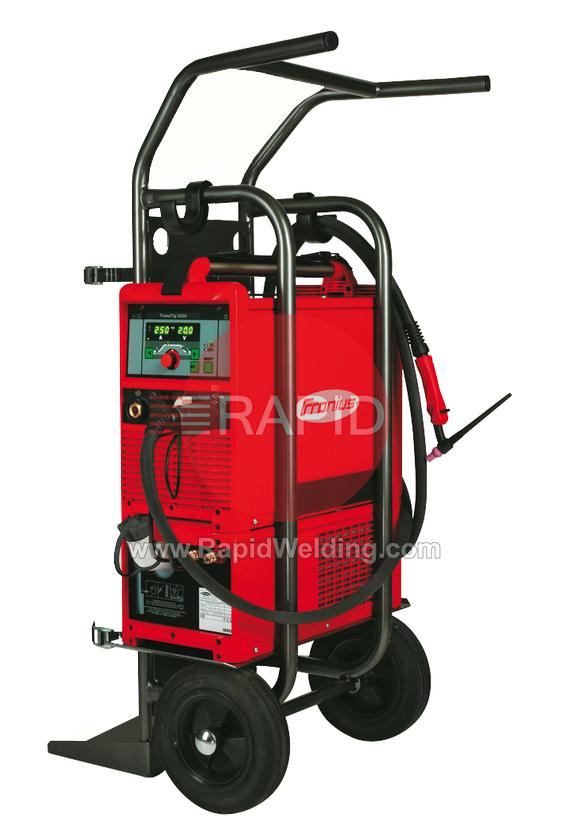 AFD-TT2200W  Fronius TransTig 2200 Job, Watercooled Tig Welder Package, with TTW2500A 4m Torch & Earth, 230v