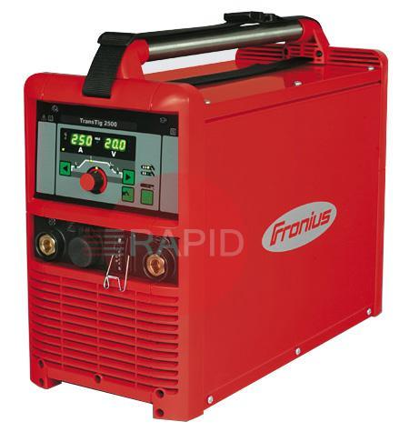 AFD-TT3000W  Fronius TransTig 3000 Job Water Cooled Tig Welder Package with TTW 2500A 4m Tig Torch & Earth, 400v 3ph