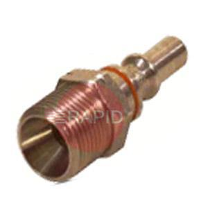 "AU126001  Male Quick Coupling Pin 3/8"" RH"